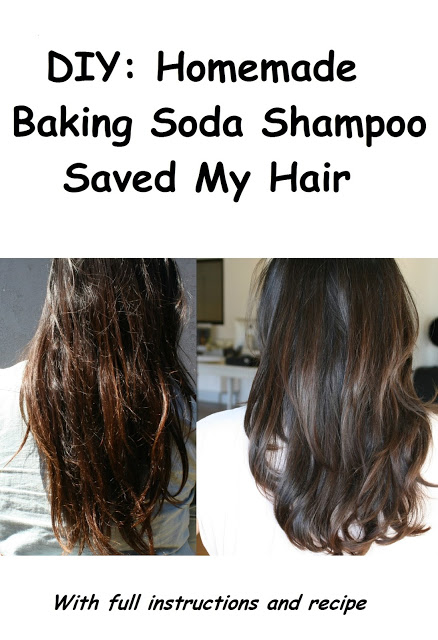 DIY: Homemade Baking Soda Shampoo Saved My Hair