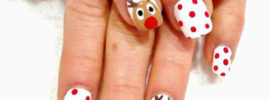 Top 20 Fabulous Christmas Nail Art Designs