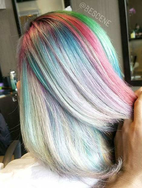 Pastel Hair Color Ideas for 2017