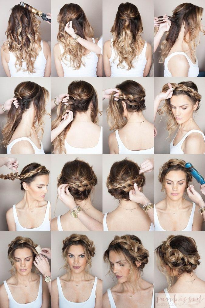 12 Wedding Hairstyles Tutorial Best Photos Andreas News