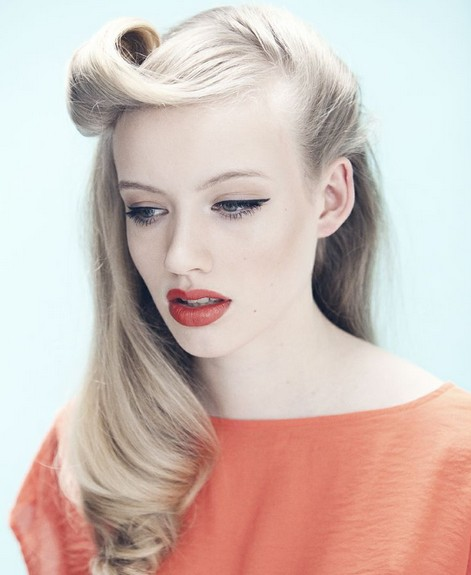 Vintage Half up Half down Hair You Must Try