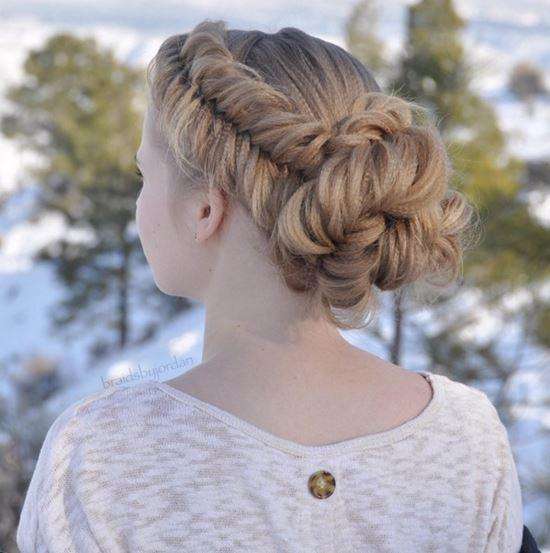26 Beautiful Braided Updo Ideas from Instagram