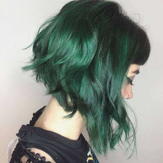 30 Green Hair Color Ideas Andrea S News